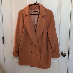 Jackets & Blazers - Rose pink coat